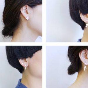 MAKIAMI PLANTS earrings Combination Examples