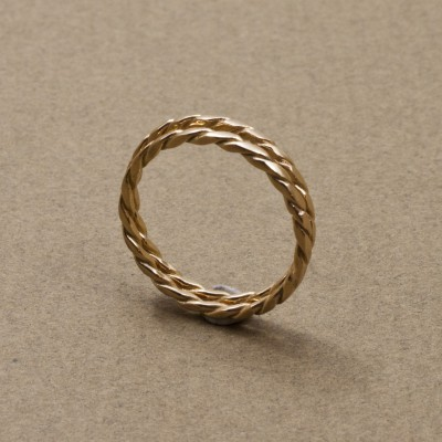 Twist,rings, 18k gold