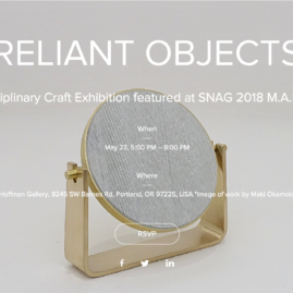 Reliant Objects at Hoffman Gallery