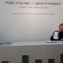 """magic language///game of whispers"" at Grand Palais"