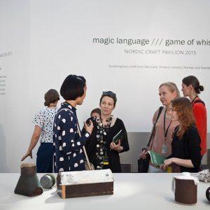 """""""magic language///game of whispers"""" at Grand Palais"""