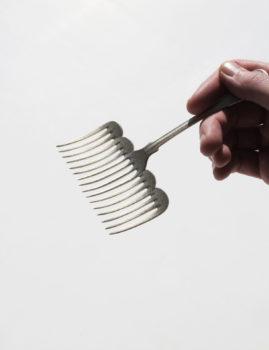 A wide fork by Maki Okamoto