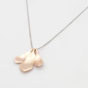 Magnolia Halsband 18K rose gold